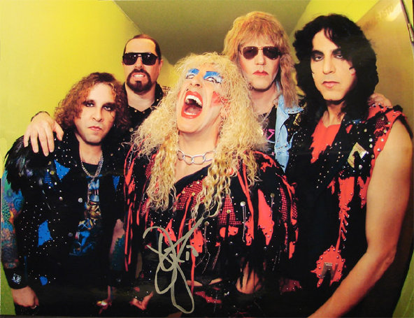 Twisted Sister autographed photo