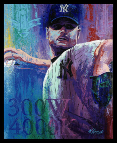 Roger Clemens by Bill Lopa